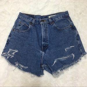 Vintage Hi waisted shorts